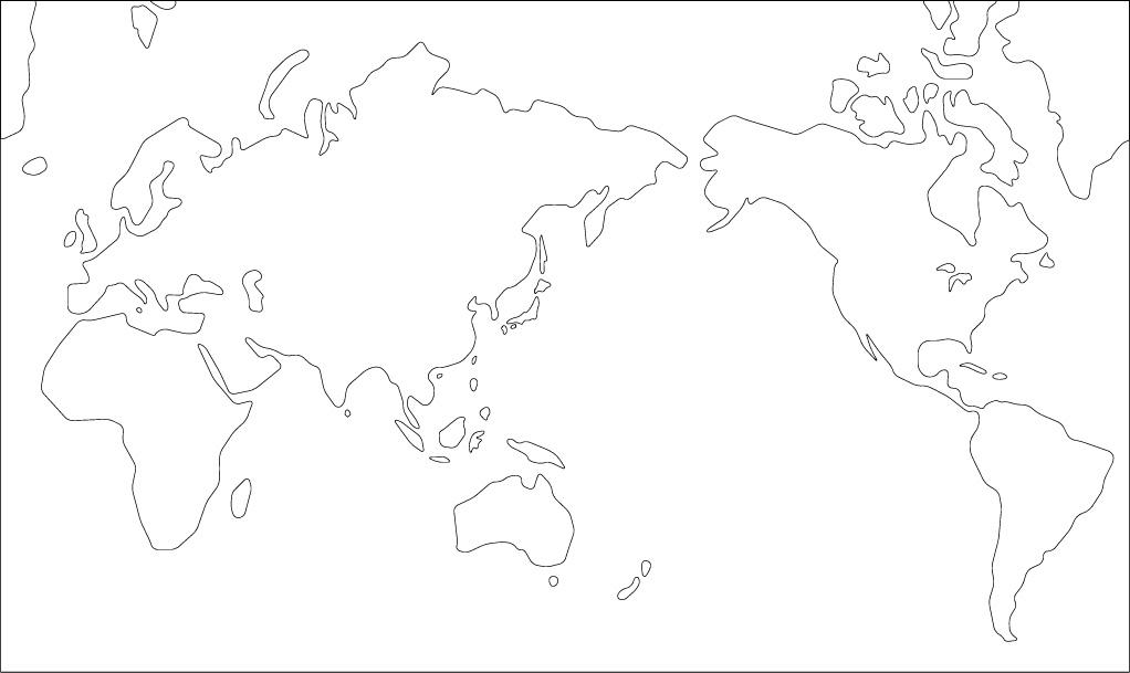 白地図、地理教材を無料で ...